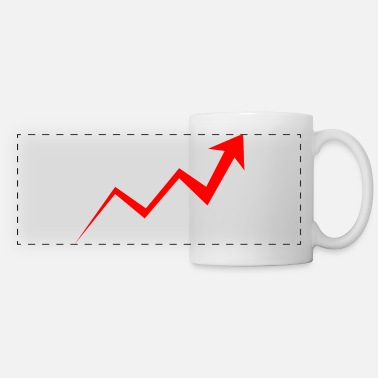 Development Course rising course - red - Panoramic Mug