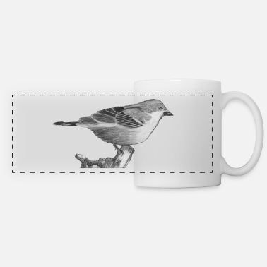 Sparrow sparrow - Panoramic Mug