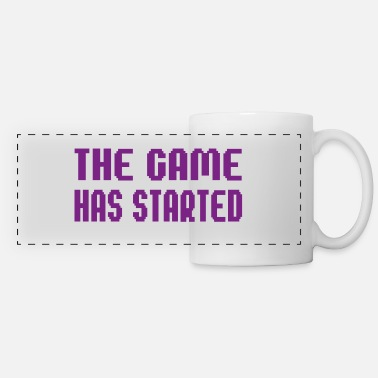 THE GAME HAS STARTED - Panoramic Mug