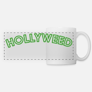 Ganja &amp HOLLYWEED - Panoramic Mug