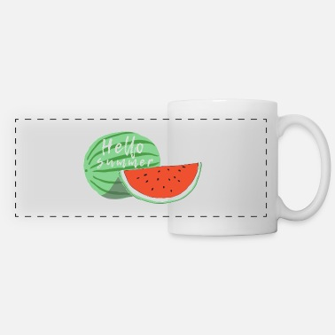 Summer HELLO SUMMER - Panoramic Mug