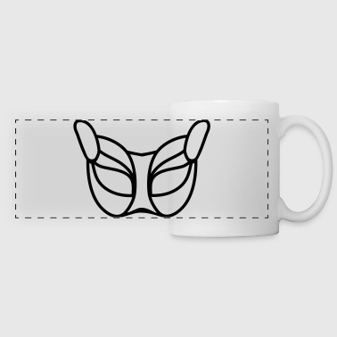 Cat_mask_ga8 - Panoramic Mug