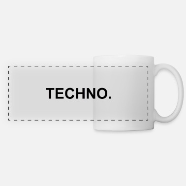 Techno Techno. - Panoramic Mug