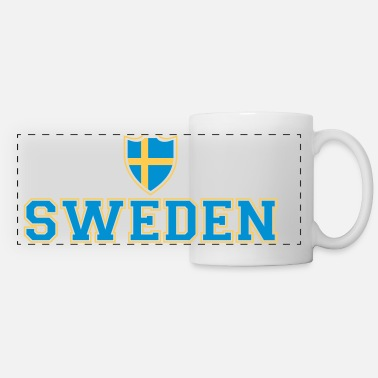 Shield Sweden Shield - Mug panoramique contrasté et blanc
