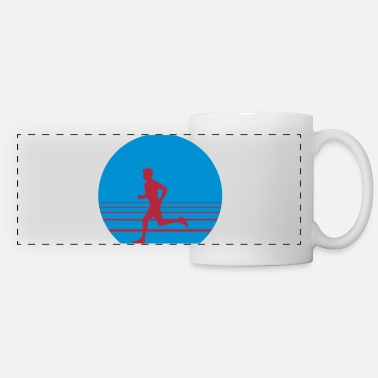 Sprinten Runner Sundown - Panoramic Mug