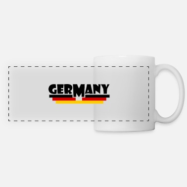 Flag Of Germany Germany flag - Germany flag - Panoramic Mug