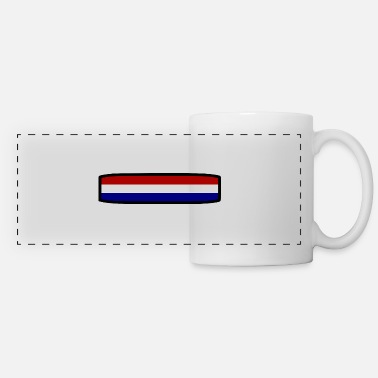 Holland flag - Panoramic Mug