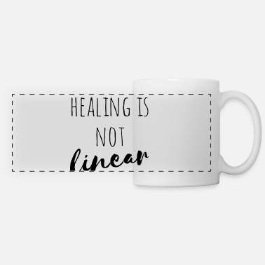 Healing Healing is not linear - Panoramic Mug