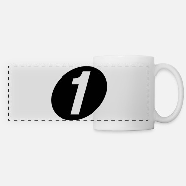 Number One number one - Panoramic Mug