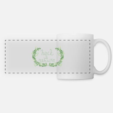 back to nature - Panoramic Mug