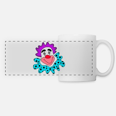 Clown clown - Panoramic Mug