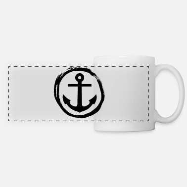 Anchor Anchor - Anchor - Sea - Panoramic Mug
