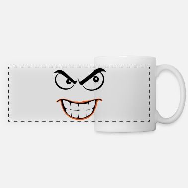 smiley evil - Mug panoramique