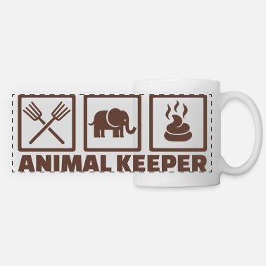 Keeper Animal keeper - Panoramic Mug