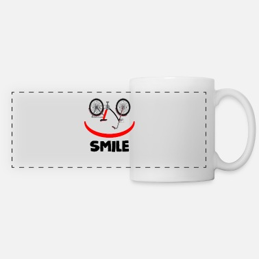 Bike Smile Smile Laugh Bike Drahtesel - Kubek panoramiczny