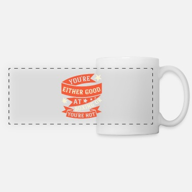 Match You're either good at boxing, or you're not - Panoramic Mug