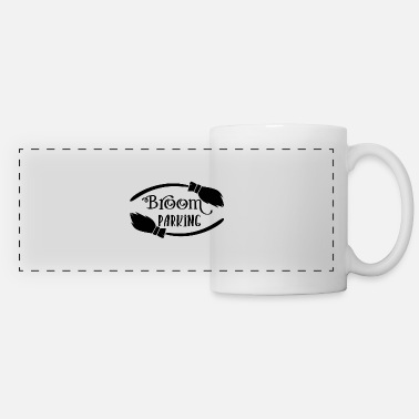 Park Broom Parking Parking - Panoramic Mug