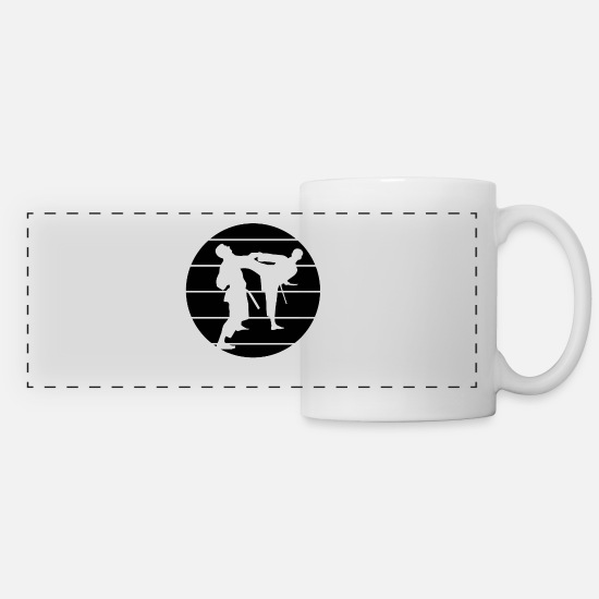 Muay Thai Mugs & Drinkware - martial artists - Panoramic Mug white