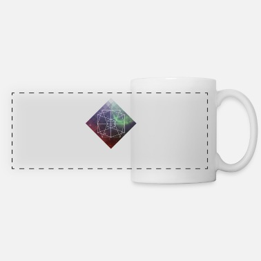 Sacred Geometry Sacred Geometry - Love And Geometry - Panoramic Mug