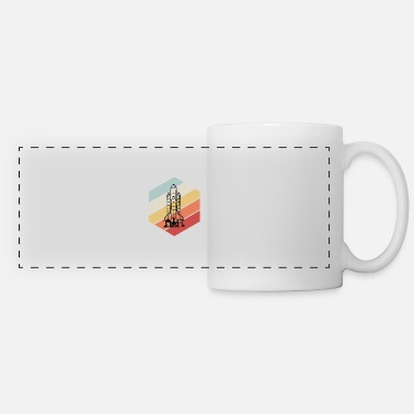 Space Space Shuttle - Space, All, Space - Panoramic Mug