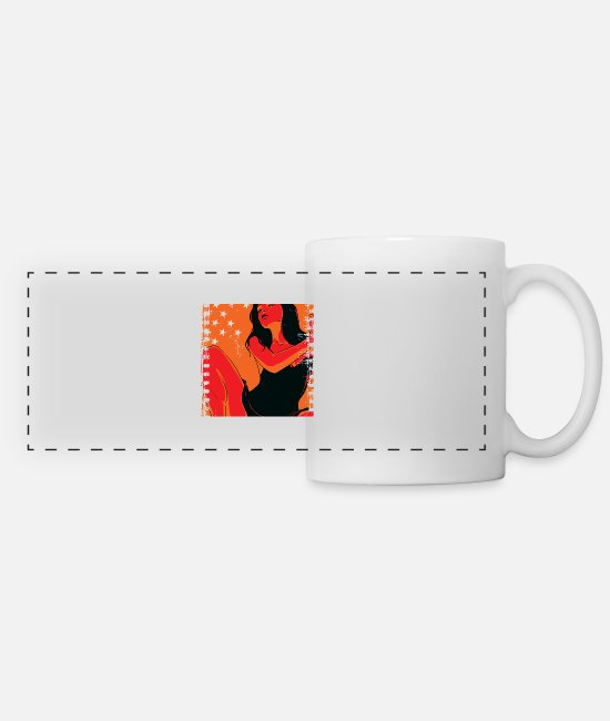 Sexy Mugs & Drinkware - Girlfriend - Panoramic Mug white