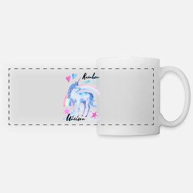Rainbow Unicorn Rainbow Unicorn / Rainbow Unicorn - Panoramic Mug