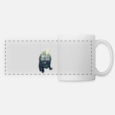 French &amp Autumn-Frenchie - Panoramic Mug
