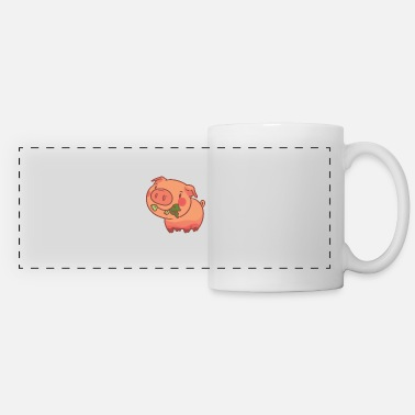 Vegetarian Vegetarian Gift Vegetarian Vegan Vegetable - Panoramic Mug