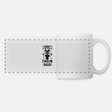 Cool Motorcyclist cool quote - Panoramic Mug