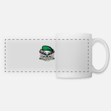 Soldier Of Fortune Soldier of Fortune | Skull Beret | Telescropes | Banner - Panoramic Mug