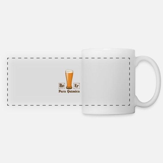 Albuquerque Mugs & Drinkware - Pura Quimica - Panoramic Mug white