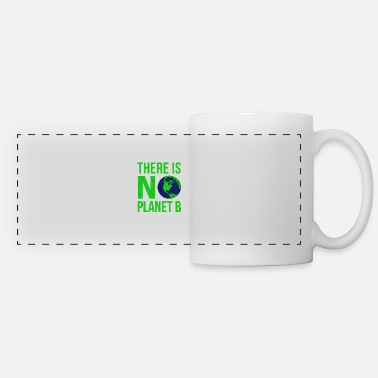 B Day There Is No Planet B - Earth Day - Panoramic Mug
