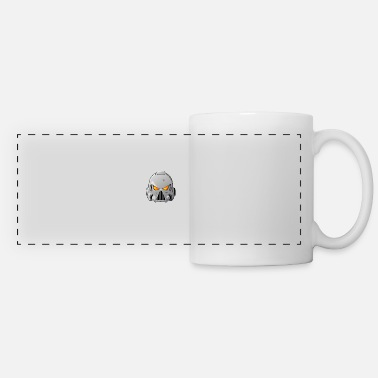 War Space Wolves Space Marine Helmet - Panoramic Mug