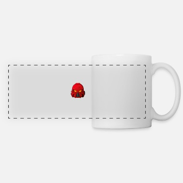 Blood Blood Angels Space Marine Helmet - Panoramic Mug