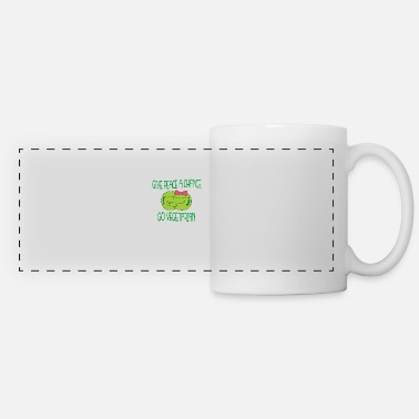 Green peace - Panoramic Mug