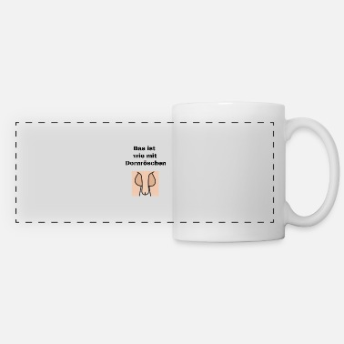 Beautiful sleeping Beauty - Panoramic Mug