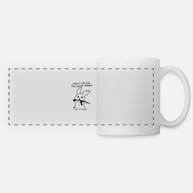 White Rabbit White rabbit - Panoramic Mug