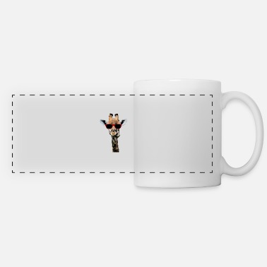 Giraffe Giraffe T-Shirt Animal Giraffe funny neck gift - Panoramic Mug