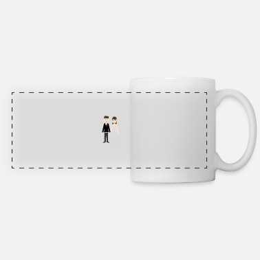 Wedding Couple Wedding marriage couple - Panoramic Mug