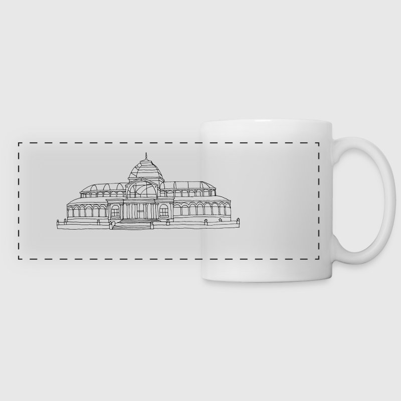 Madrid Crystal Palace - Panoramic Mug