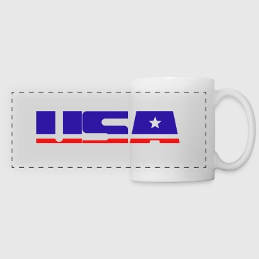 usa - Panoramic Mug