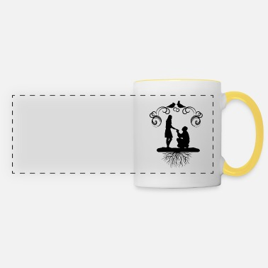 Engagement engagement - Panoramic Mug