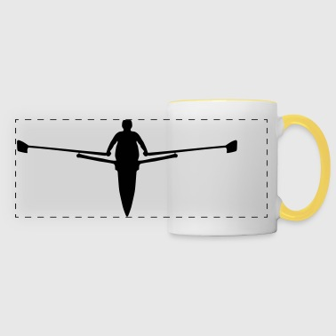 Rowing (super cheap) - Panoramic Mug
