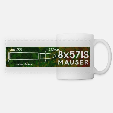 Caliber Caliber shirt 8mm - Panoramic Mug