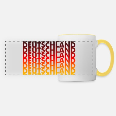Germany Germany! Germany! Germany! - Panoramic Mug
