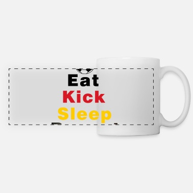 Kick Eat Kick Slep Herhaal Germany Football - Panoramamok