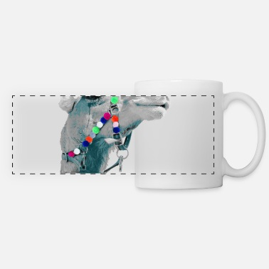Crittercontest Pompom CRITTERCONTEST Moroccan dromedary - Panoramic Mug
