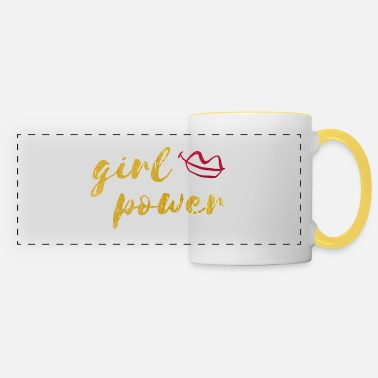 Ballade girl power kiss - Mug panoramique