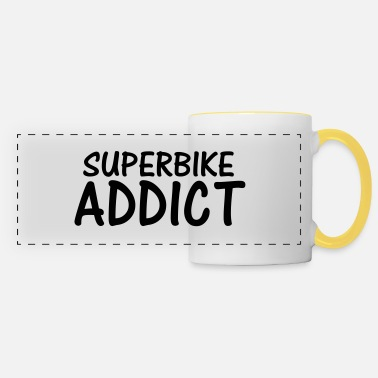 Superbike superbike addict - Panoramic Mug