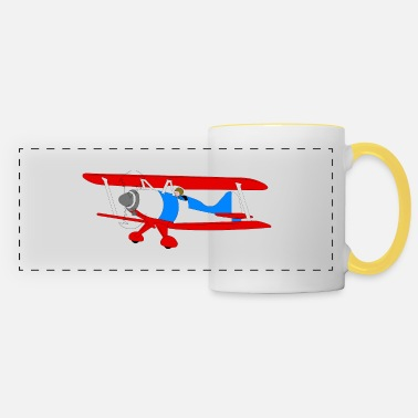 Airplane Airplane - Panoramic Mug
